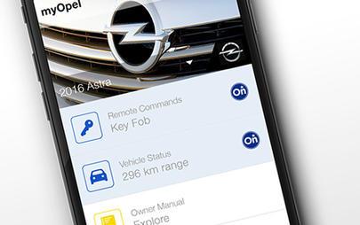 myOpel, app, mobil